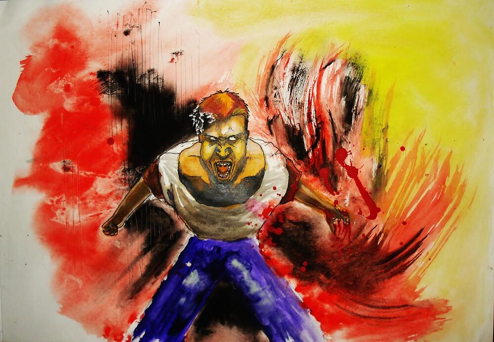 Rage II by Dragos Olar V