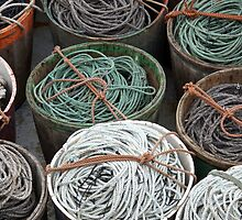 Trawl Tubs by Jean Knowles