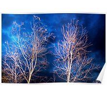 Night Glow - Mypolonga, near Murray Bridge, SA Poster