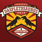 Project Daspletosaurus Greeting Card by David Orr