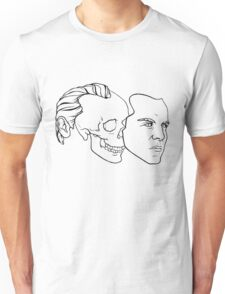 Behind the Eyes of Moriarty Unisex T-Shirt