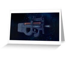 CSGO Gun Series | P90 WATER Greeting Card