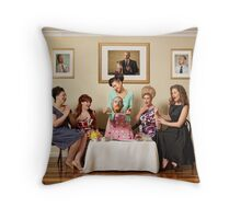Revenge is a Dish Best Served Cold Throw Pillow