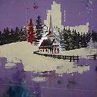 Transylvanian Church in the Mountains by Dragos Olar V