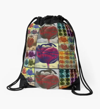 Bound and Barbed Drawstring Bag