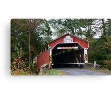 Richards Covered Bridge_Columbia County Pennsylvania Canvas Print