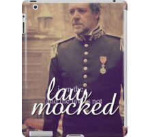 I Am The Law iPad Case/Skin