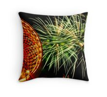 Over The Midway Throw Pillow