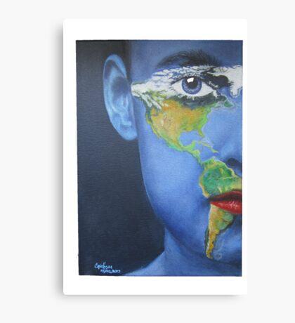 Eye on the Americas Canvas Print