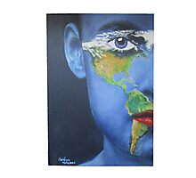 Eye on the Americas Photographic Print