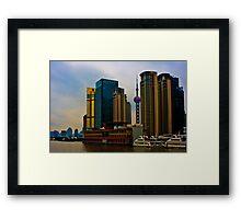 Shanghai, Pudong Framed Print