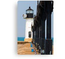 St. Joseph North Pier Outer Light, Michigan Canvas Print
