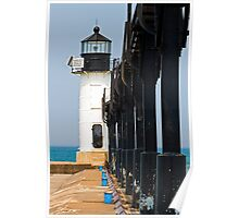 St. Joseph North Pier Outer Light, Michigan Poster