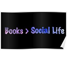 Galaxy 'Books > Social Life' Design Poster