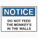 Notice: Do not feed by Alexandra Tepp