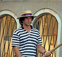 Stoic Gondolier by phil decocco