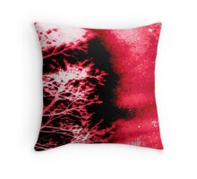 Acid Wash: Passion Throw Pillow