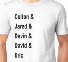 Colton Dixon and Band Members Tee Unisex T-Shirt