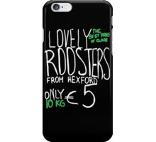 Lovely Roosters iPhone Case/Skin