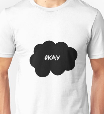 Okay Black Unisex T-Shirt