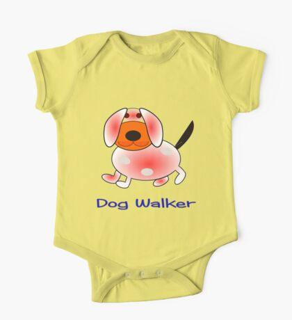 Dog Walker skirt, etc. design One Piece - Short Sleeve