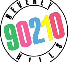 Beverly Hills 90210-logo by KikkaT