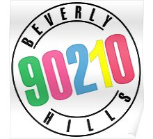 Beverly Hills 90210-logo Poster