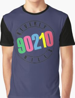 Beverly Hills 90210-logo Graphic T-Shirt