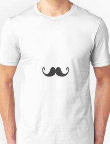 Retro Grunge Black Novelty Moustache Gentleman  T-Shirt