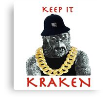 KEEP IT KRAKEN Canvas Print