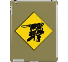 Bipedal Walking Tank X-ing iPad Case/Skin