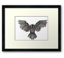 Dusty Owl Framed Print