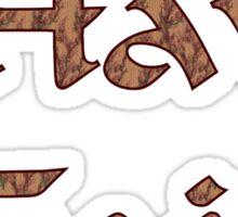 Have Faith Inspirational Design Sticker