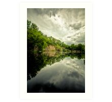 Belle Pond Art Print