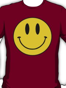 Vintage 90's Grunge Yellow Smiley ACID Rave Face T-Shirt