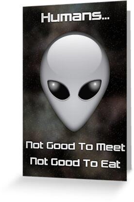 Neila the Grey - Meet'n'Eat by ArtByDrew