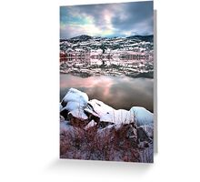 An Okanagan Winter Greeting Card