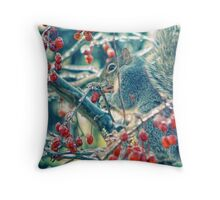 Icy Breakfast Throw Pillow