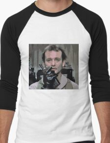 Bill Murray Ghost Busters Men's Baseball ¾ T-Shirt