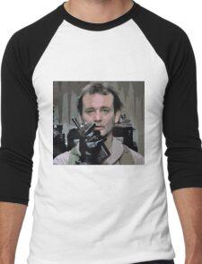 Bill Murray Ghost Busters Men's Baseball ¾ T-Shirt