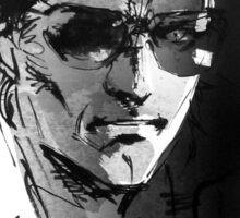 Metal Gear Solid V - Kaz - Kazuhira Benedict Miller Sticker