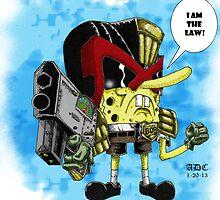 Judgebob Dreddpants by Andrew Dawe-Collins
