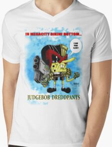 Judgebob Dreddpants Mens V-Neck T-Shirt