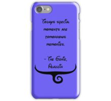 The Genie, Aladdin Quote iPhone Case/Skin