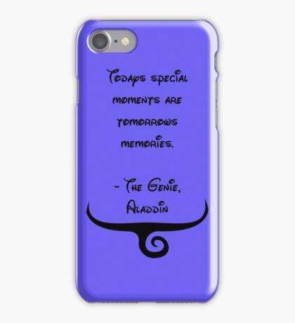 The Genie, Aladdin Quote iPhone Case/Skin