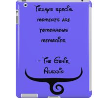 The Genie, Aladdin Quote iPad Case/Skin