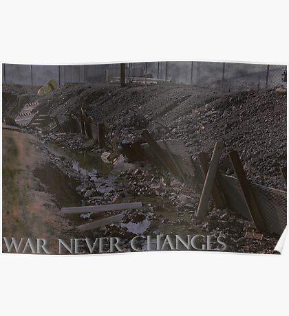 War Never Changes Poster