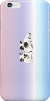 "I-phone case ""Burma Cat"" #2 by scatharis"