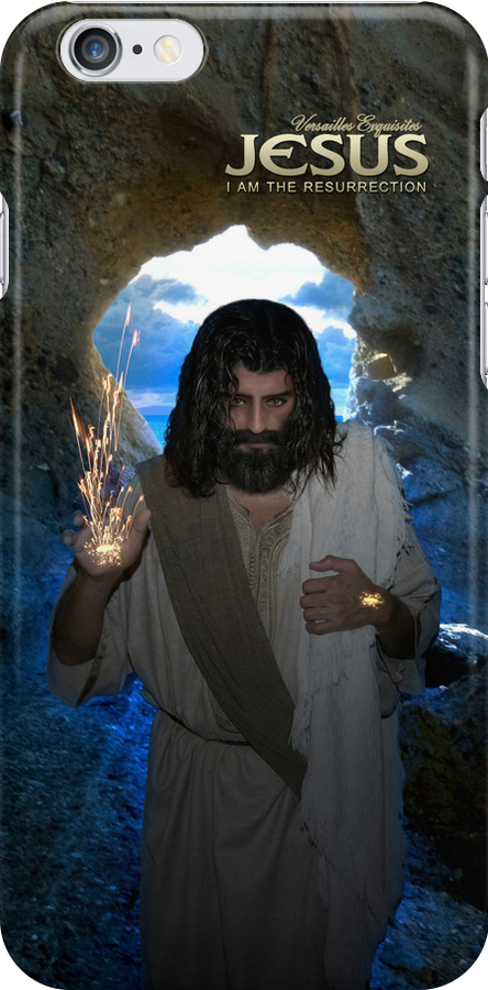 Jesus: I am the resurrection (iPhone/iPod Case) by Angelicus