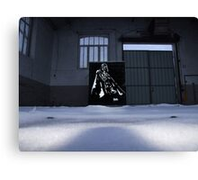 Vader spraypainting Canvas Print